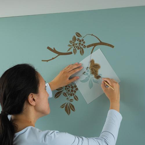 Нарисовать на стенах своими руками