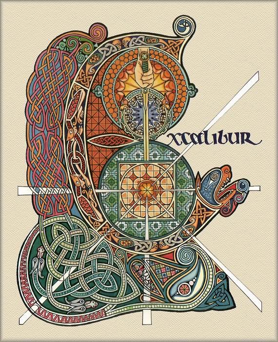 Кельтский орнамент: история и