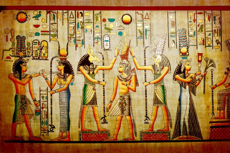 Мифы и боги Древнего Египта