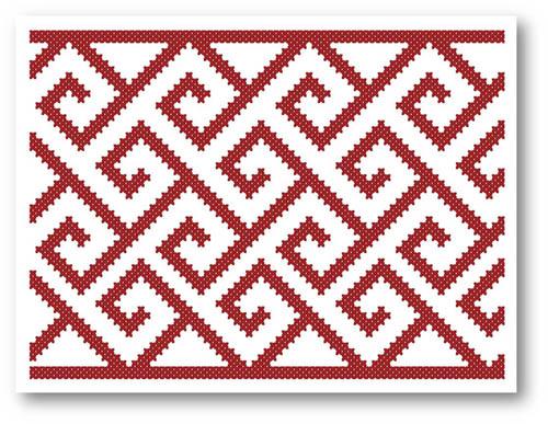 Кельтские мотивы в вышивке